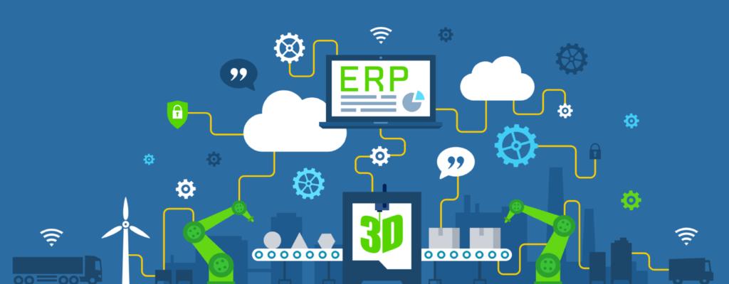 ERP Systeme und Industire 4.0 (Hintergrund)