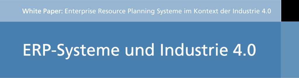 ERP Systeme und Industire 4.0 (Titel)
