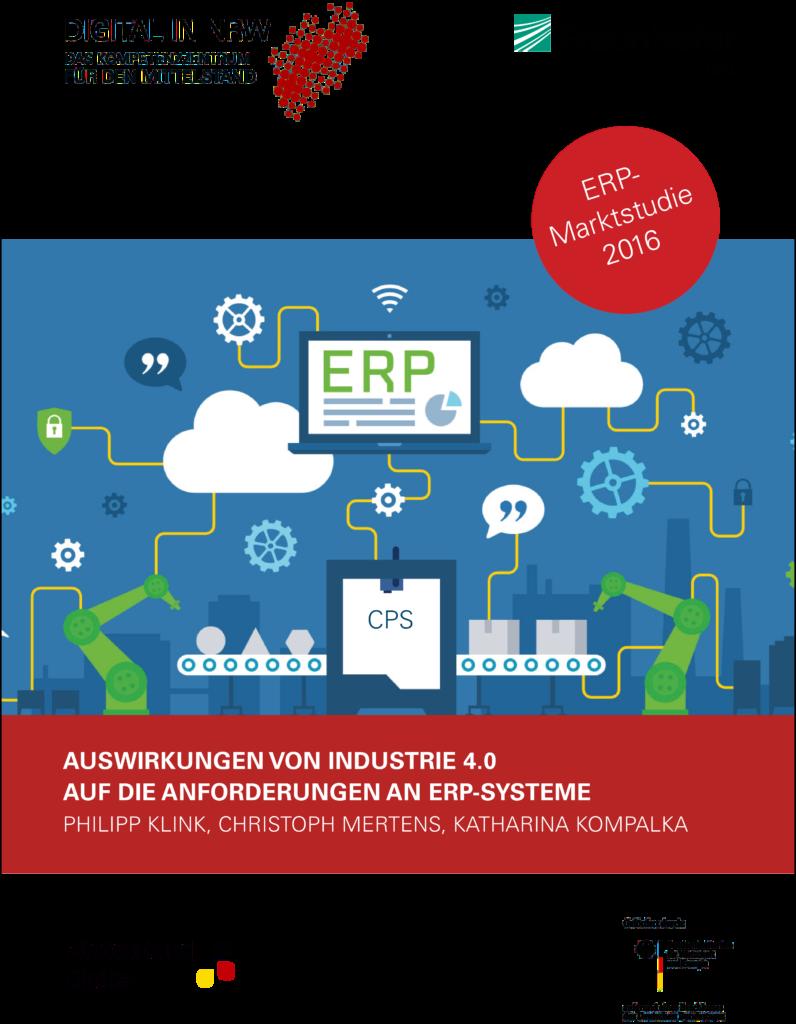 Marktstudie Auswirkungen vonIndustrie 4.0 auf die Anforderungen an ERP Systeme