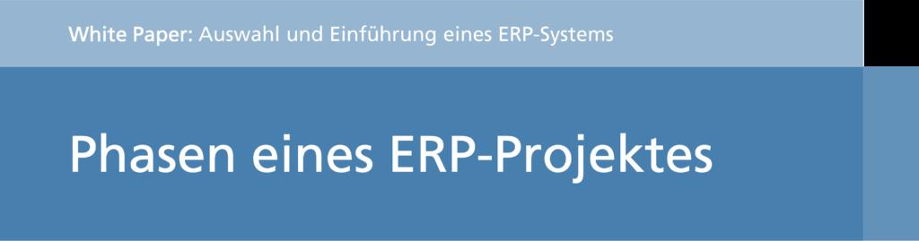 Phasen eines ERP Projektes (Titel)