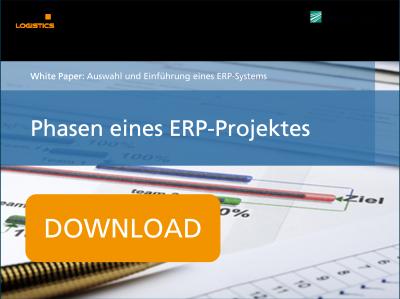 Phasen eines ERP Projektes © fotolia.com #37419062 CHW